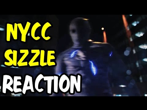 Nerds REACT to THE FLASH 2015 NEW YORK COMIC-CON SIZZLE REEL