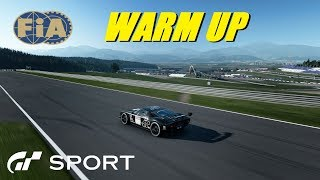 GT Sport FIA Rnd 9 Warm Up - Crazzy Stream Plus Racing The GT World Champion