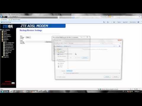 Configurar Tu Router ZTE ZXV10 W300 De Telefnica Del Per  Wi Fi