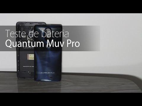 Autonomia do Quantum Muv Pro | Teste oficial de bateria do TudoCelular