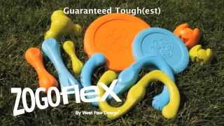 Fun Tough Dog Toys Zogoflex by West Paw Design