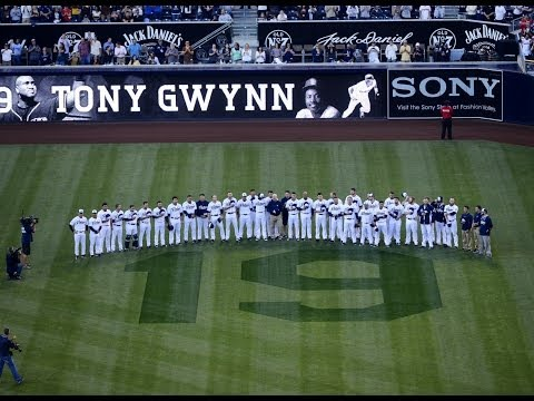 San Diego Padres Pay Tribute to Tony Gwynn
