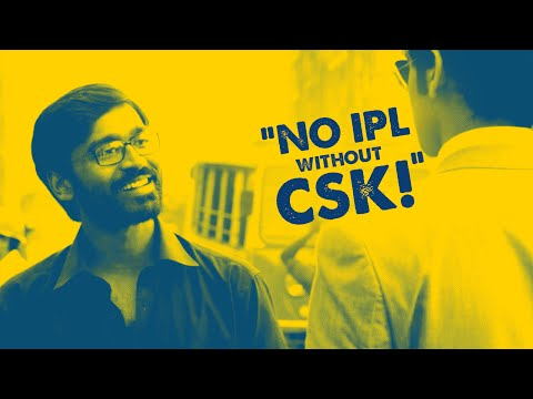 Dhanush angry about IPL without CSK | Fully Filmy