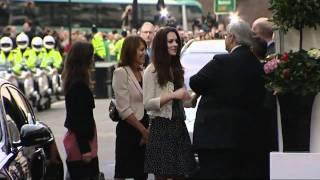 Kate's last night as a Middleton