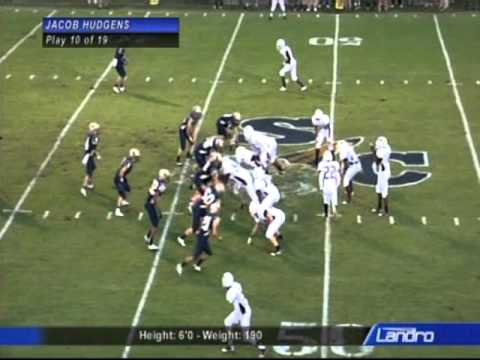 Jacob Hudgens Shelby County High School Football Highlights - 2011