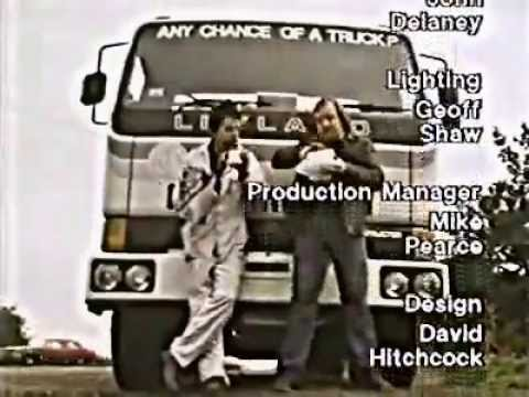 Not The Nine O'Clock News - I Like Trucking (RIP MEL)