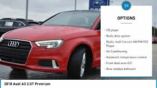2018 Audi A3 Grapevine TX, Plano TX, Ft. Worth TX KH442813M