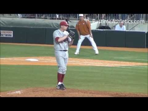 Jonathan Gray Pitching Mechanics Slow Motion Colorado Rockies MLB Draft Pick #3 RHP Oklahoma