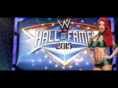 BREAKING NEWS On 2015 WWE Hall of Fame NOW Featuring Eva Marie NOT Jerry