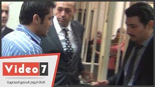 بالفيديو..مرتضى منصور وشوبير وطاهر وأحمد حسن بعزاء جلال توفيق