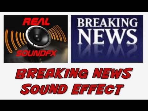 Breaking News Bulletin Sound Effect - Realsoundfx video