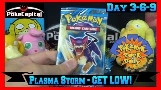 Pokemon Pack Daily Plasma Storm Booster Opening Day 369 GET LOW PARODY- Featuring ThePokeCapital