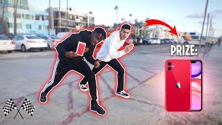 Beat Me in a Race, You Win the iPhone 11 vs Random People!