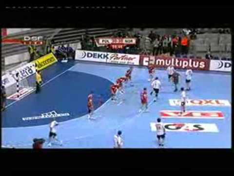 Polska Vs Norwegia-piłka Ręczna Artur Siódmiak Wielki Bohater