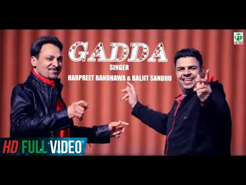 Gadda | Harpreet Randhawa& Baljit Sandhu | Full Music Video