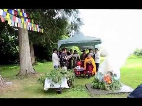 Tibetan Buddhist Centre, Jampa Ling: H.H. Dalai Lama 80th Birthday Celebration, Puja 5072015