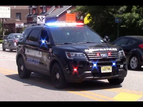 Bloomfield Police Department BRAND NEW Car 217 Responding With Rumbler 6-24-16