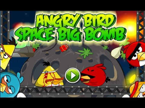 Bomb Bird Space Angry Bird Space Big Bomb