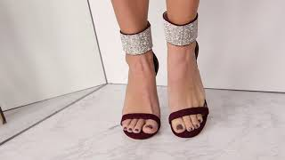 BLING YOUR WAY SEXY HEELED SANDALS