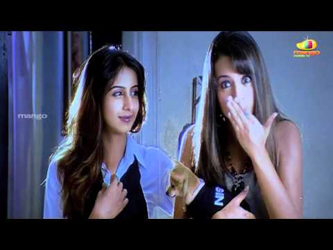prabhas and trisha fighting - Baahubali prabhas bujjigadu comedy...