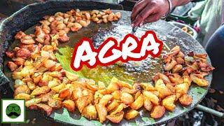 Night Street Food  Tour in Sanjay Palace, Agra with Veggiepaaji