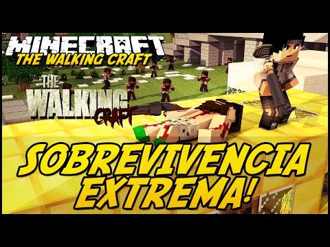 Minecraft: The Walking Craft - SOBREVIVÊNCIA EXTREMA! #2