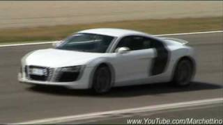 Audi R8 in Action – Accelerations & Fly Bys