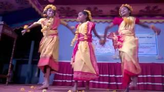 Nice Dance, the Students of Rajdharpur Kinder Garten, Baliakandi, Rajbari.