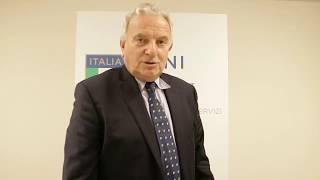 """Francesco Ricci Bitti al """"Corso di Alta Specializzazione in Management Olimpico"""""""