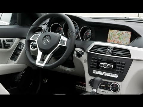 Redesigned 2012 Mercedes C-Class - In/Out/Driving [HD]