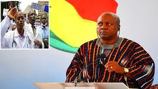 Adomako Baafi Punhes HoIes; Mahama chopped 29 cuban doctors funds