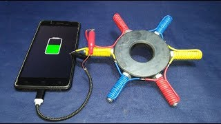 Free Energy Generator Magnet 100% Real New Technology New Idea Project