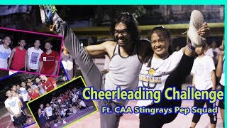 📣 CHEERLEADING CHALLENGE ( Ft. CAA Stingrays PEP Squad of Las Pinas) | I💖TANSYONG TV