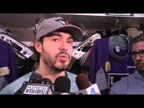 5/15/13 - Post Practice - Drew Doughty