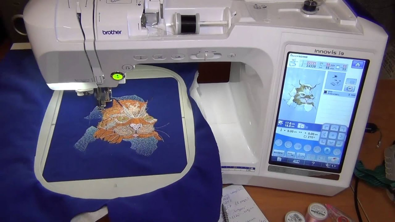 Вышивальная машина с созданием своей вышивки 171