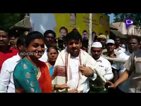 Roja Fun With TDP MP Siva Prasad & Amarnath Reddy | Inaugurates Tahsildar Building | Indiontvnews