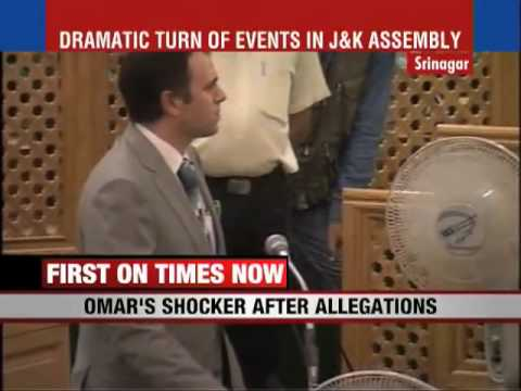 J&K Chief Minister says 'I quit'