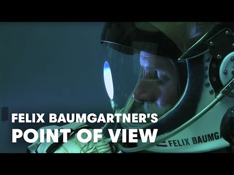 Felix Baumgartner's Point of View - Red Bull Stratos Free Fall