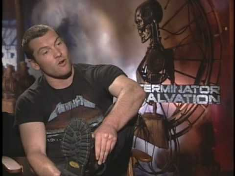 "Sam Worthington Interview ""Terminator Salvation"""