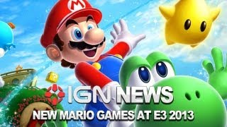 IGN News - Smash Bros, New Mario and Mario Kart to Debut at E3