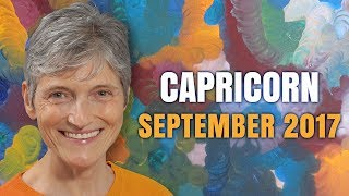CAPRICORN September 2017 Horoscope | You have a magic touch!