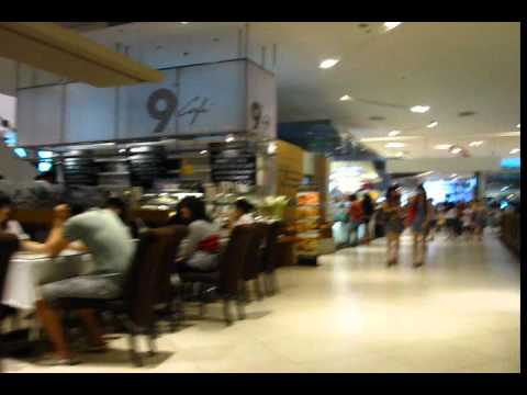 Walk through Paragon Mall Shops, Restaurants and Food Court – Phil in Bangkok