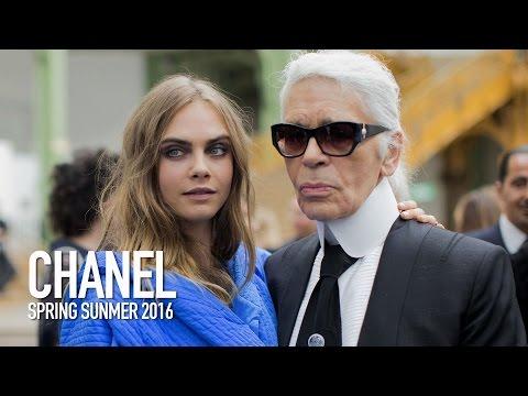 CHANEL SS16 Backstage ft Karl Lagerfeld, Cara Delevingne #ChanelAirlines | MODTV