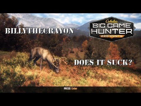 Cabela's Big Game Hunter: Pro Hunts - Thoughts & Comparison w/ theHunter