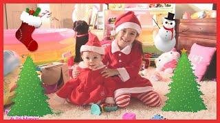 Trò Chơi Ông Già Noel Tặng Quà Giáng Sinh cho Bé Peanut Bé Mango / Đồ Chơi Trẻ [kênh bé Peanut]