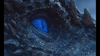 Game of Thrones 7x06: Ending Scene - The Night King Resurrects Viserion