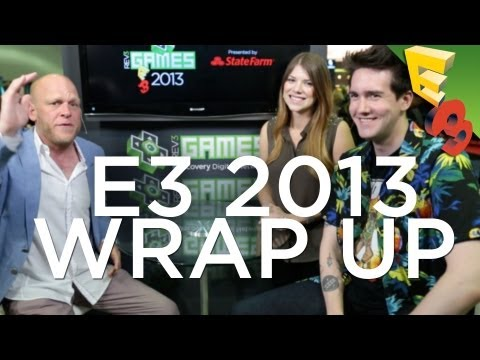 Where Does The Gaming Industry Stand? E3 2013 FINAL WRAP UP! Adam Sessler, Tara Long, Max Scoville!