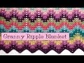 Crochet for Knitters  - Granny Ripple Blanket