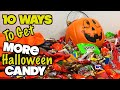 10 Ways To Get More Halloween Candy - PART 5 (MUST TRY) Trick Or Treat Life Hacks | Nextraker