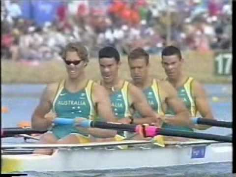 Men's Four Race - Sydney 2000 Video
